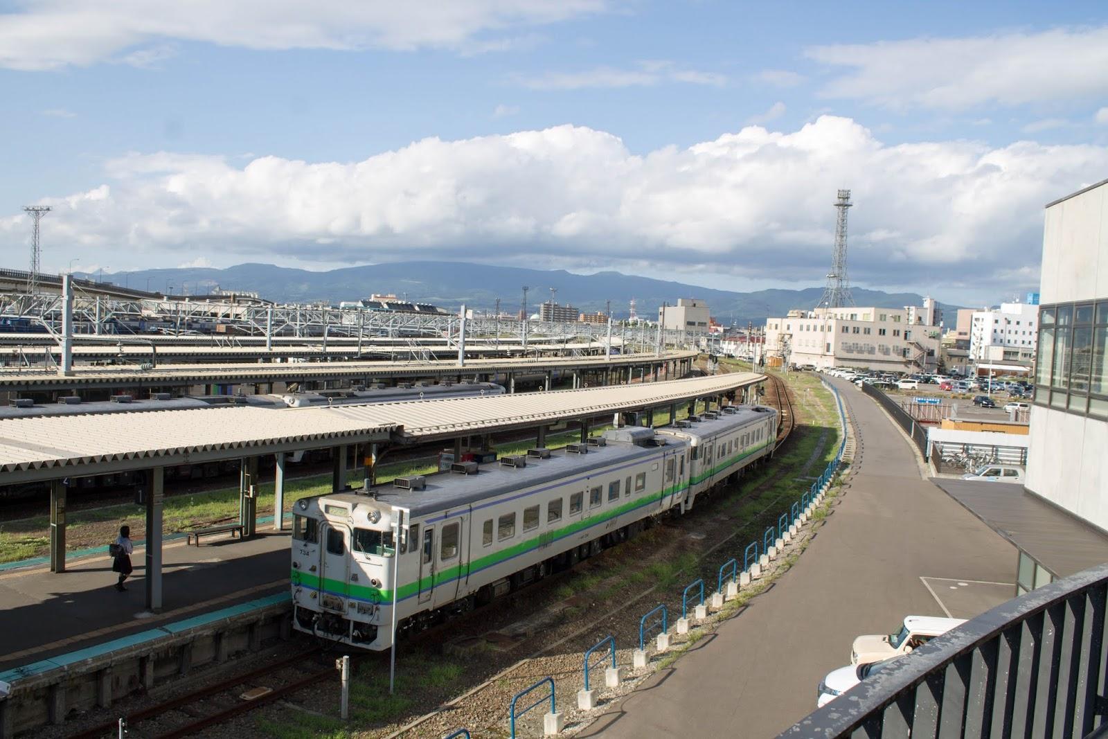 再び函館駅