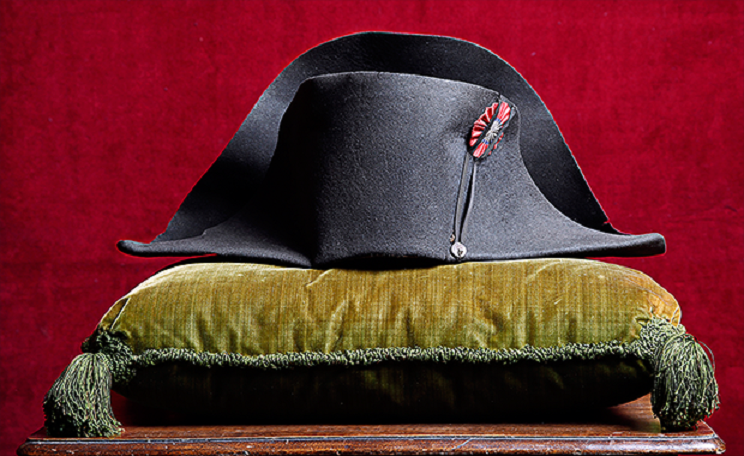Napoleon's iconic hat up for auction in France