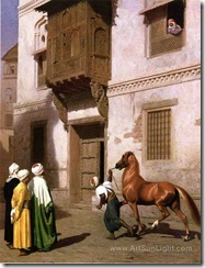 cairene-horse-dealer-the-horse-market-by-Jean-Leon-Gerome-080