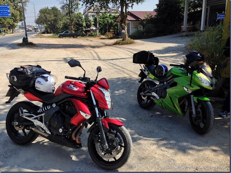 Two loonies ride Thailand