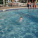 Bryan in the pool at the Country Inn and Suites hotel in FL 06032011a