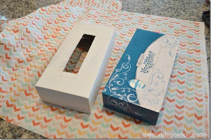 Spray Paint Tissue Box Cover