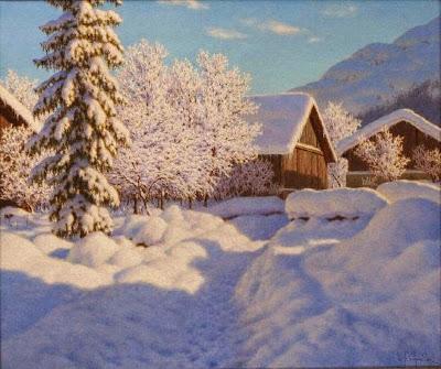 Ivan Fedorovich Choultse - Janvier Chamonix, Haute Savoie