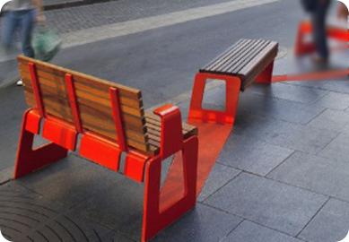 wooden bench minimalis