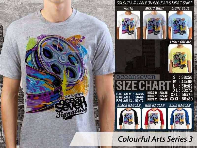KAOS keren Colourful Arts Series 3 Roll Film Movie | KAOS Colourful Arts Series 3 distro ocean seven