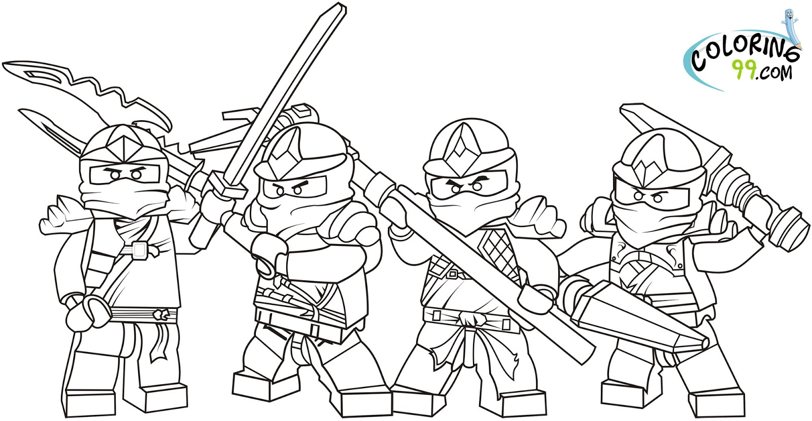 The Lego Movie Free Printables, Coloring Pages, Activities  - lego movie coloring pages