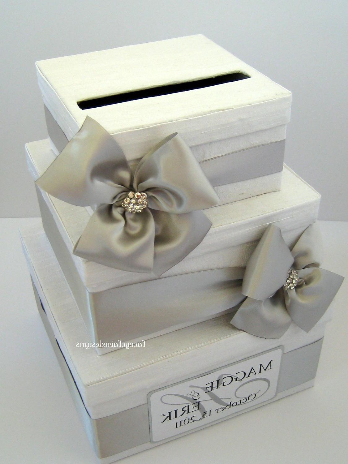 Wedding Gift Card Containers : Wedding Card Box, Money Card Box, Gift Card Box, Card Holder - Custom ...