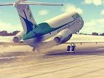 N97OZ rotating off the runway.