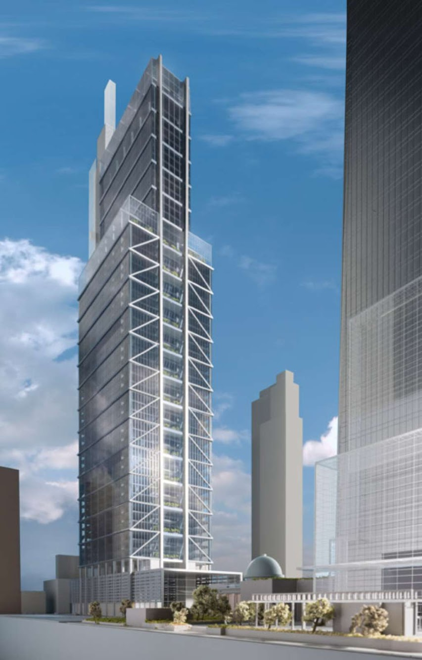 Comcast Innovation and Technology Center by Foster Partners