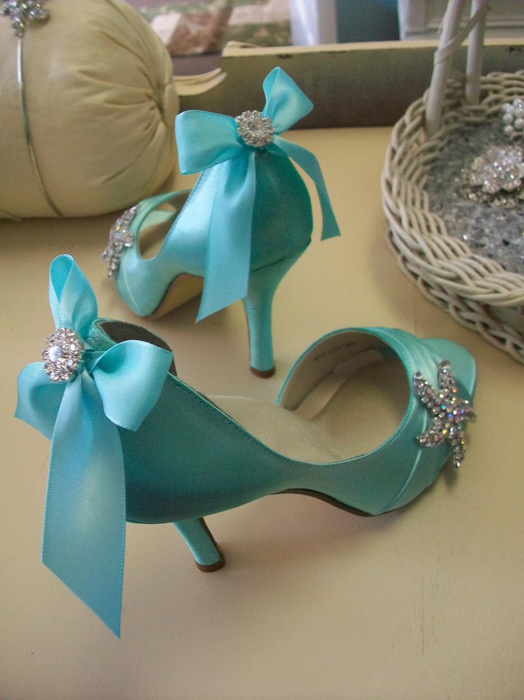 Blue Shoes Beach Wedding