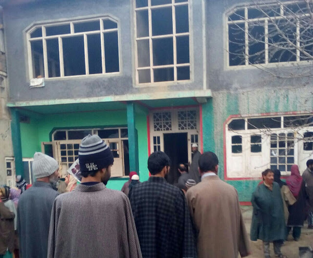 People visited the family's house where the encounter took place