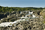 Great Falls, the rapids of the Potomac River, on the Maryland Side of the Maryland-Virginia border.