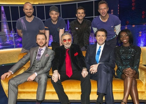 The Jonathan Ross show Coldplay (2)