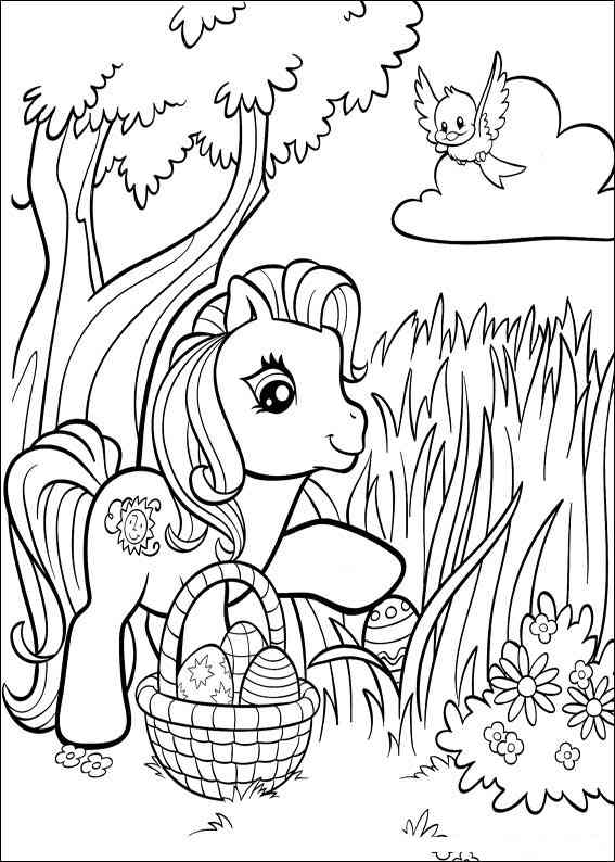 My Little Pony Coloring Pages Cartoons ColoringPedia