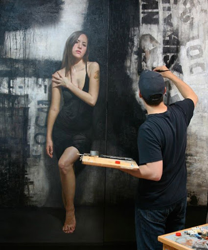 ultra realistic wall painting