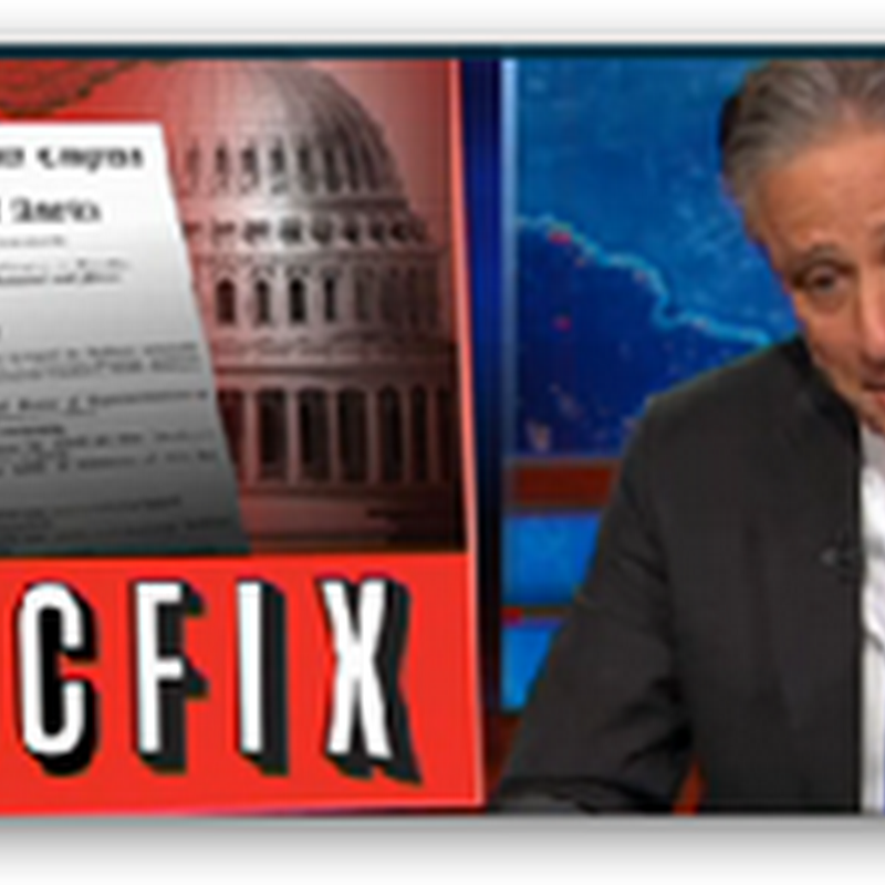Leave It Up to Congress and the White House to Turn the SGR Repeal into a Media Circus…Daily Show..