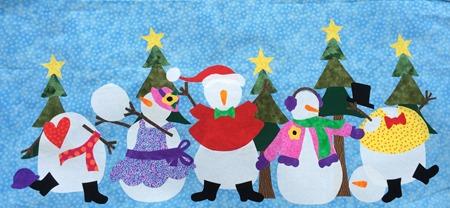 snowman row