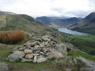 Rannerdale Knotts northern summit