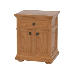 Edinburgh Nightstand with Doors