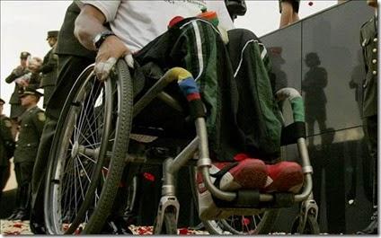 Discapacidad Colombia - Minas antipersonal