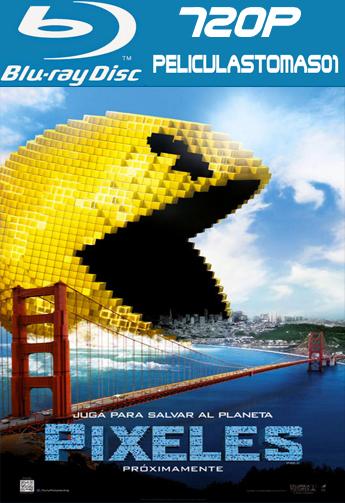 Pixeles (Pixels) (2015) [BRRip 720p/Dual Latino-ingles]