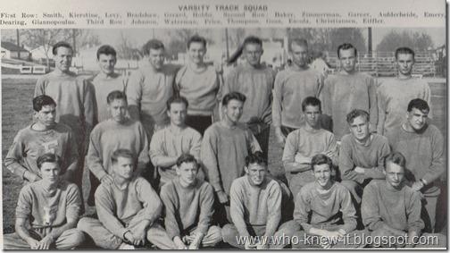 Track Team 1944