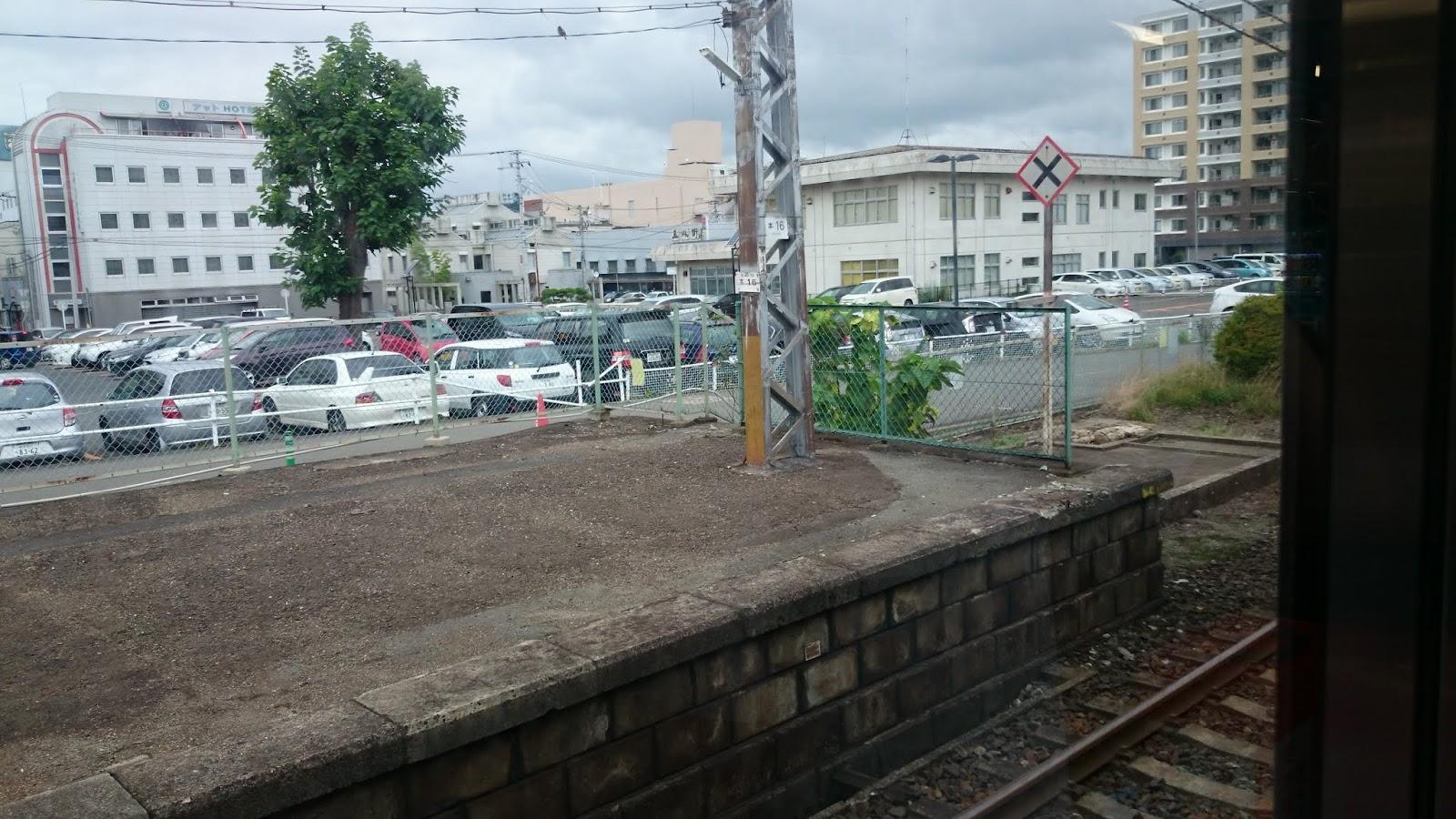 一ノ関発車前