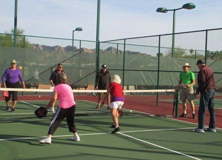 Yuma Pickleball Clinic with Patzers