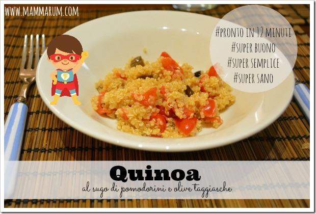 quinoa al sugo