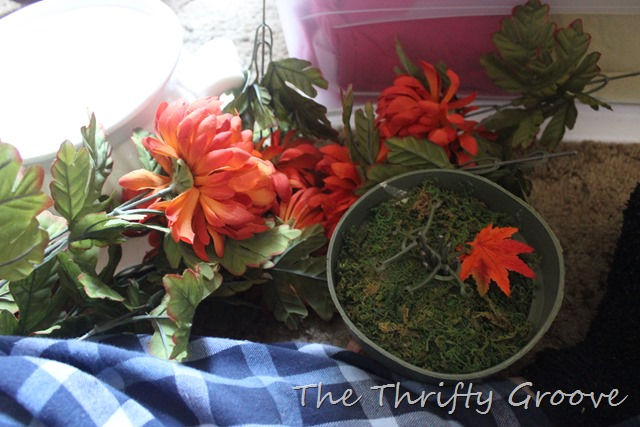 Repurpose items found out of season at the thrift stores