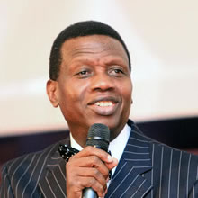 General Overseer of the Redeemed Christian Church of God, Pastor E.A Adeboye