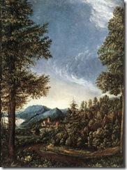 Altdorfer,_Albrecht_-_Donaulandschaft_mit_Schloß_Wörth