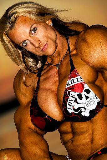 Enhanced Female Bodybuilder Jody Wald http://areaorion.blogspot.com