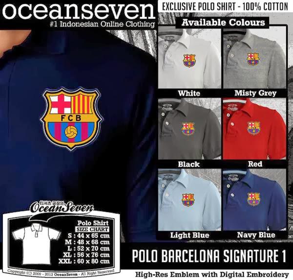 POLO Barca Barcelona Signature distro ocean seven
