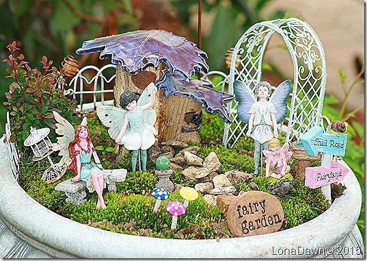 Fairy Garden 2015