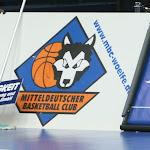 Testspiel beim MBC in Weißenfels