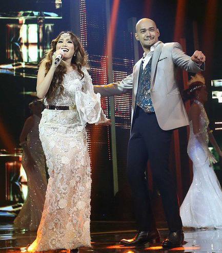 Foto Ayu Tinting dan Husien alatas Indonesian Idol 2.png