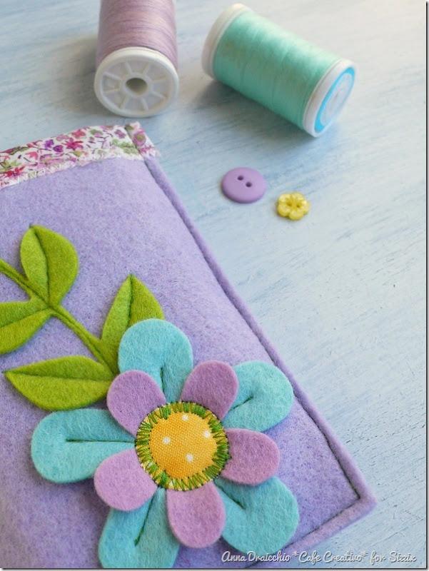 big shot sizzix-felt-flower-phone case-feltro-fiori-portacellulare (2)
