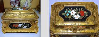 Шкатулка из бронзы. 19-й век. 19/13/13 см. 4000 евро.