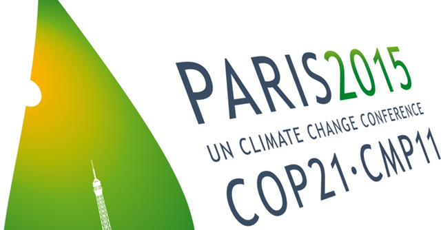 Logo for the Paris 2015 COP21 climate change conference. Graphic: Sustainable Innovation Forum