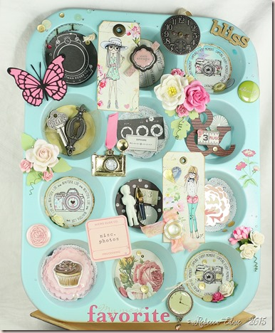 shabby muffin tin 1