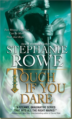 Touch If You Dare by Stephanie Rowe - Thoughts in Progress