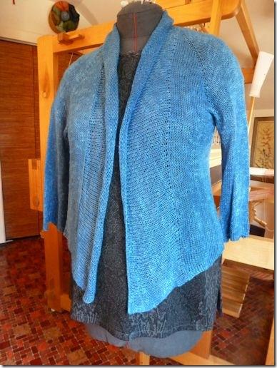 Indigo Amiga Sweater