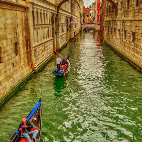 transportation by Eseker RI - City,  Street & Park  Historic Districts ( venezia, italia,  )