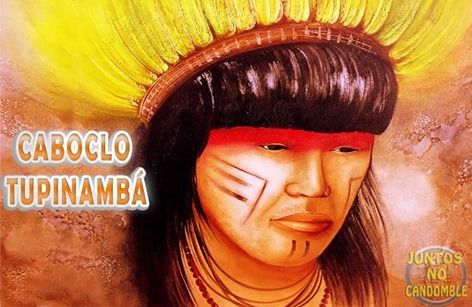 Caboclo tupinamba - umbanda - cancomblé - jurema - boiadeiros - exus pomba giras - religião - culto afro brasileiro