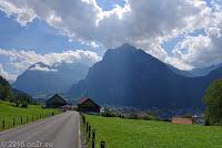 Vom Walensee über Glarus zum Klausenpaß.