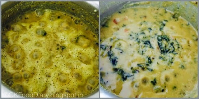 Ponnanganni Keerai Kootu Recipe (with Moong dal)| Kootu Recipes 6