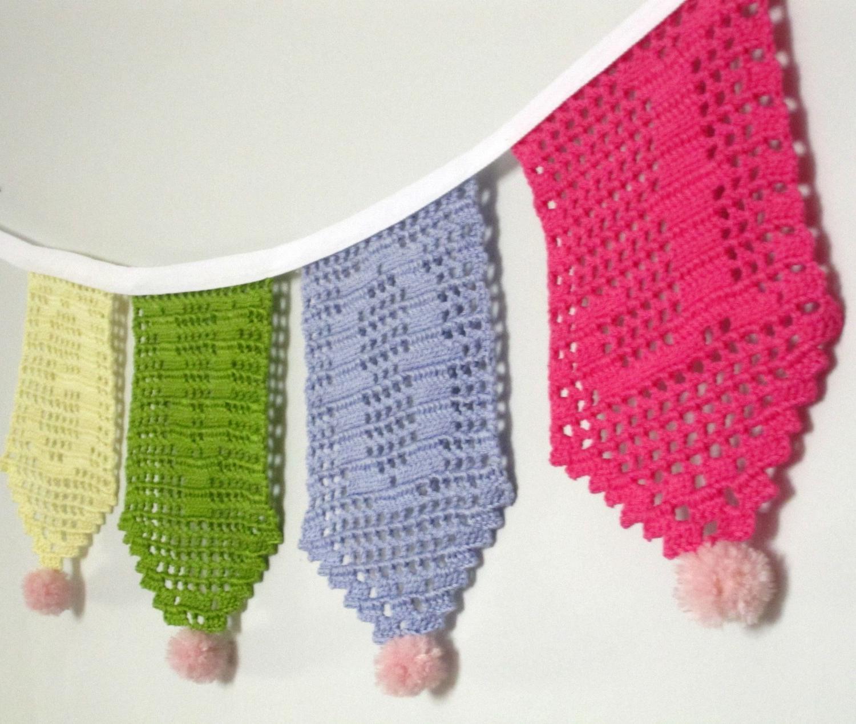 Multicolor Love, filet crochet