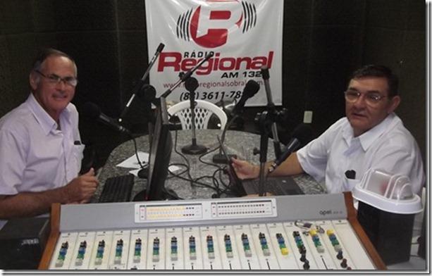 Dupla dinâmica do Rádio Debate