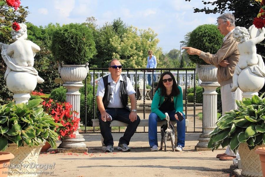 Zwiedzamy kociewskie ogrody ozdobne we Franku